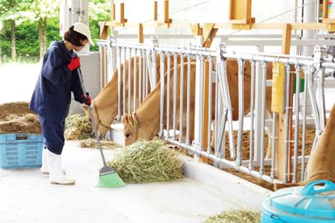 畜産担い手育成畜舎(長期研修)